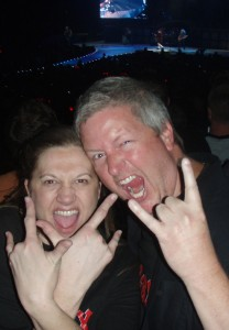 Trish & Sean @ AC/DC In Indy