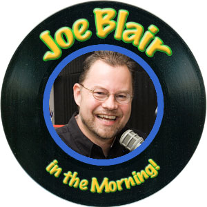 Joe Blair in the mornings on Super Hits 105.3