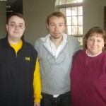 Jamie and Becky from PIHK and Sergey(middle) from (PRS) Paranormal