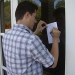 Ryan Beull the leader of the group (Founder). Signing an autograph for