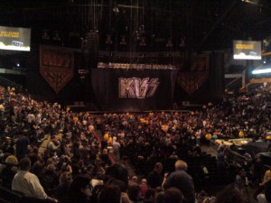 KISS Stage Before Showtime