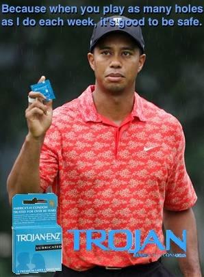 Tiger's New Endorsement