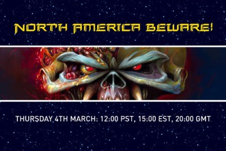 Iron Maiden major announcement coming March 4th.