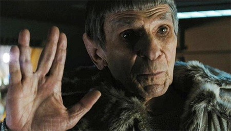 "Changing of the Guard ""Live Long and Prosper Leonard Nimoy"""