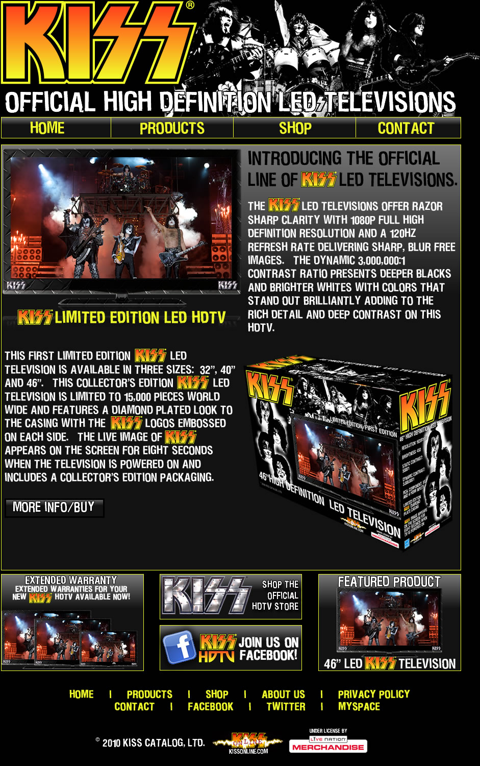 "When is KISS ""Souls"" for sale..now they have KISS Hi Def TV's"