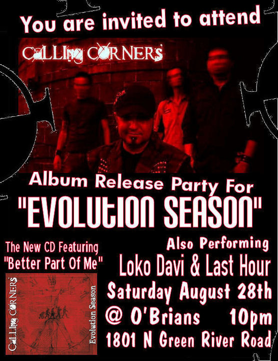 Calling Corners CD Release Party