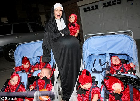 Octomom and her demon kids..(submitted by Tim Raber)