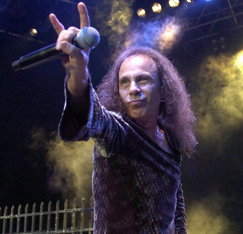 Ronnie James Dio. A real Legend.