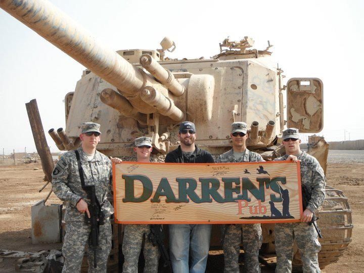 Darren's Pub rocking Iraq!
