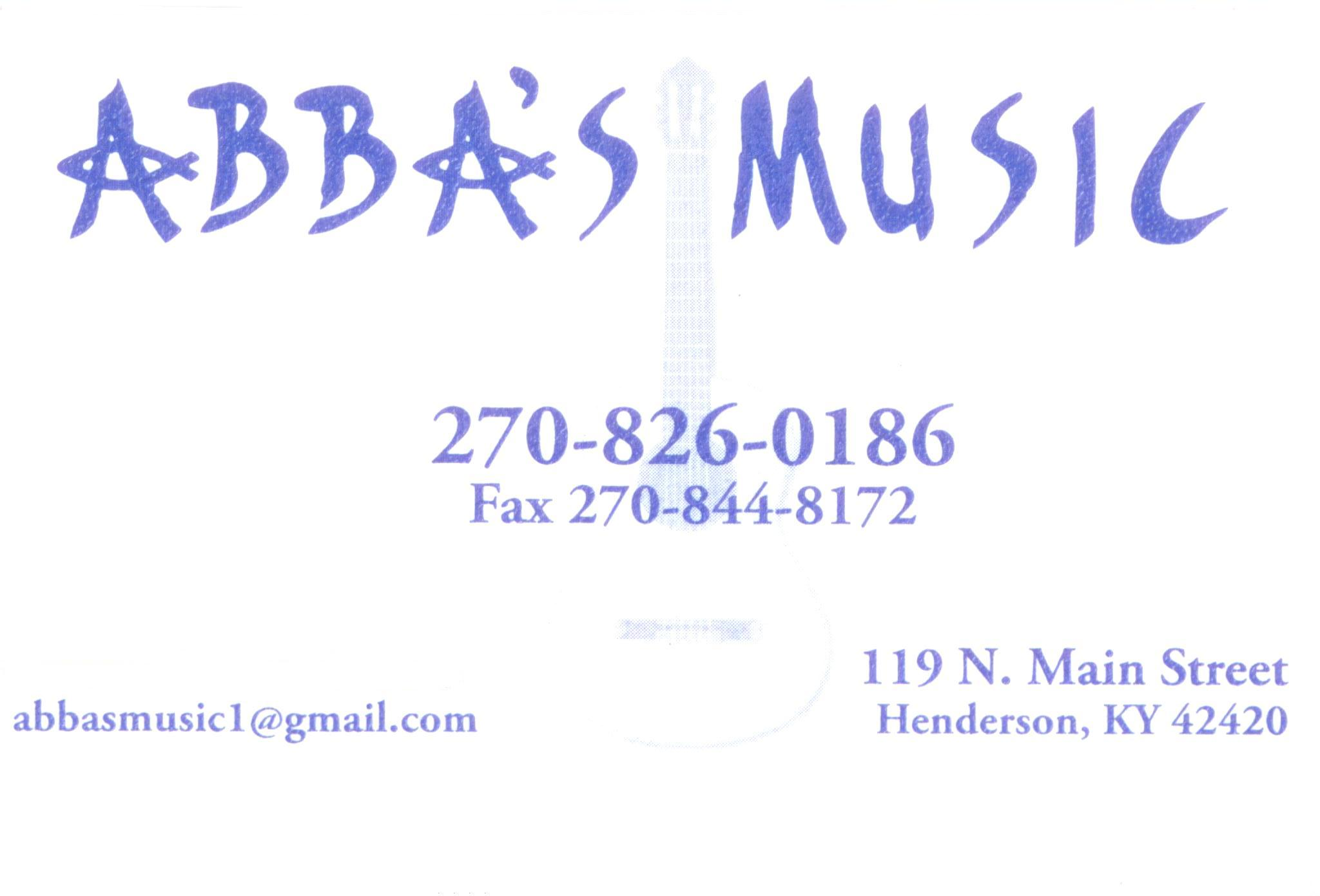 "Great Deals at ""ABBA'S Music"" store in Henderson, Ky"