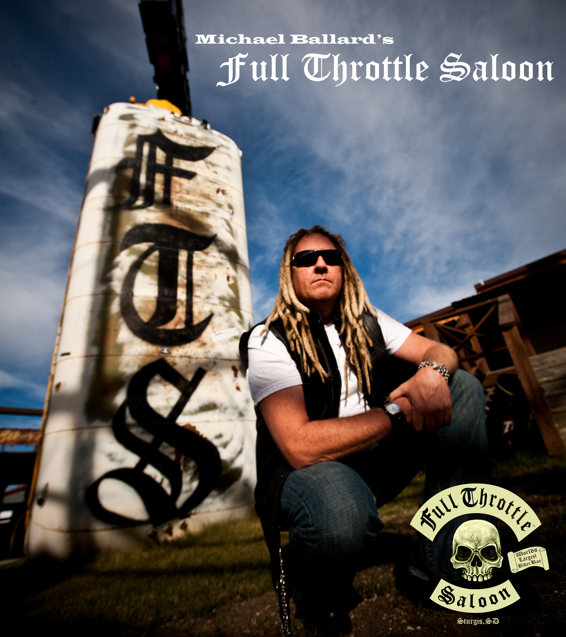 Michael Ballard's Full Throttle Saloon interview by James Lowe