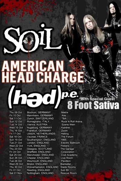 Soil hed europe tour