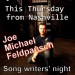 Evansville Native/Nashville Legend Joe Feldpausch this Thursday!